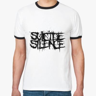 Футболка Ringer-T Suicide Silence  Муж