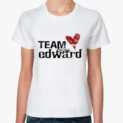 Классическая футболка Team Edward