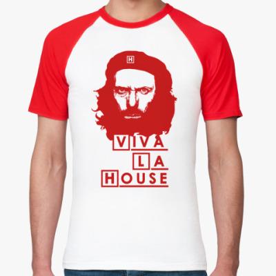 Футболка реглан Viva La House