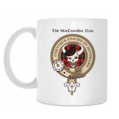 Кружка MacCannibal Coffee