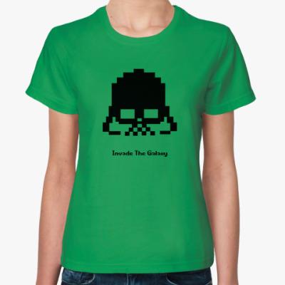 Женская футболка Invade the Galaxy