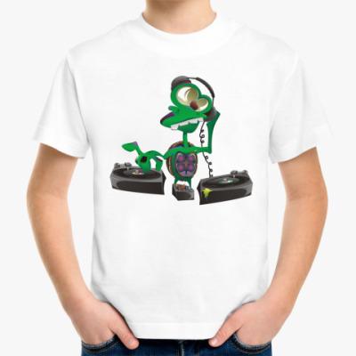 Детская футболка DJ Turtle