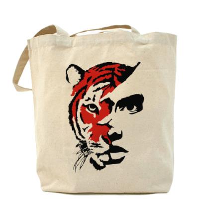 Сумка Тигр красный