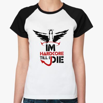 Женская футболка реглан Hardcore