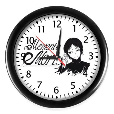 Настенные часы 'Memento mori'