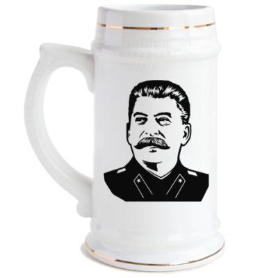 Пивная кружка Сталин