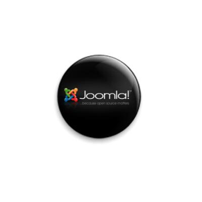 Значок 25мм  - Joomla!