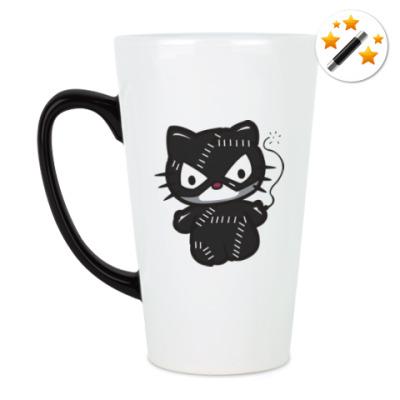 Кружка-хамелеон Китти Женщина-кошка