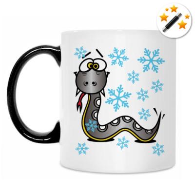 Кружка-хамелеон Змея