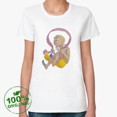 Женская футболка из органик-хлопка Мумия