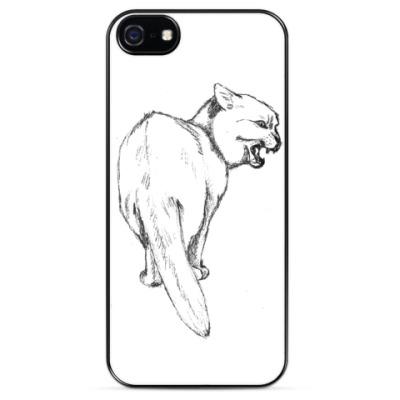 Чехол для iPhone Злой кот