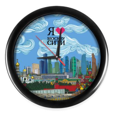 Настенные часы Москва-Сити Skyline Игоря Яновского