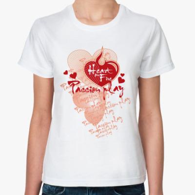 Классическая футболка Passion play