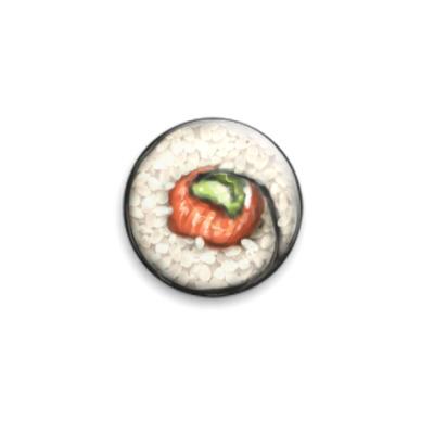 Значок 25мм  25 мм Суши