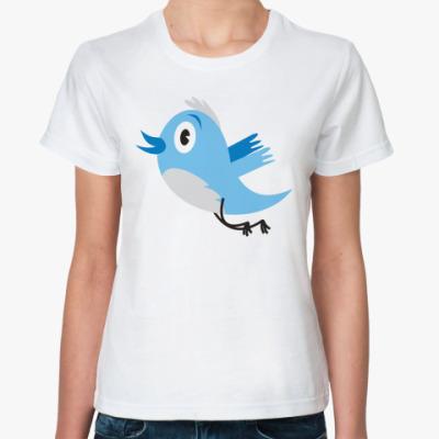 Классическая футболка Твиттер
