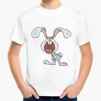 Детская футболка Белый Кролик, детская футболка