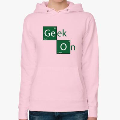 Женская толстовка худи Geek On
