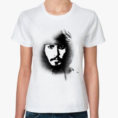 Классическая футболка Джонни Депп