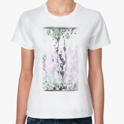 Классическая футболка сухая ветвь