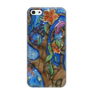 Чехол для iPhone 5/5s волшебный лес
