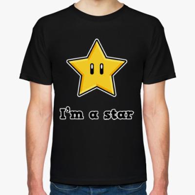 Футболка Звезда из Марио