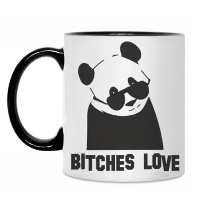 Кружка Bitches love