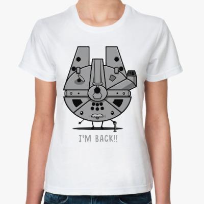 Классическая футболка Тысячелетний сокол (Звёздные войны)