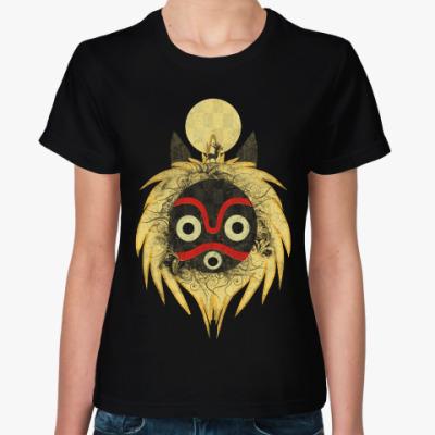 Женская футболка Маска Мононоке