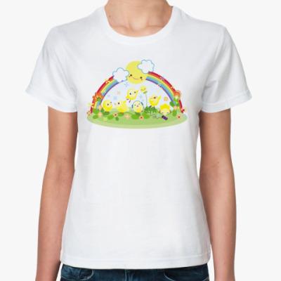 Классическая футболка   'Цыпа'