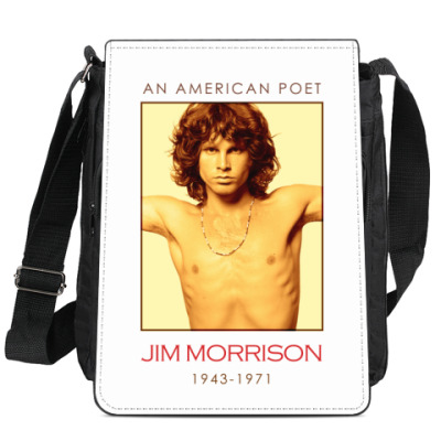 Сумка-планшет Jim Morrison
