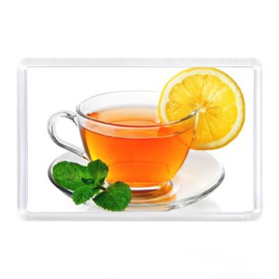 Магнит Чай с лимоном