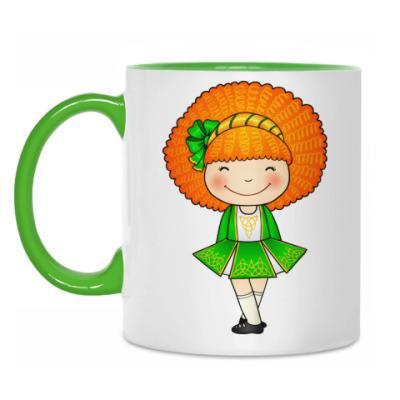Кружка Ирландская девочка