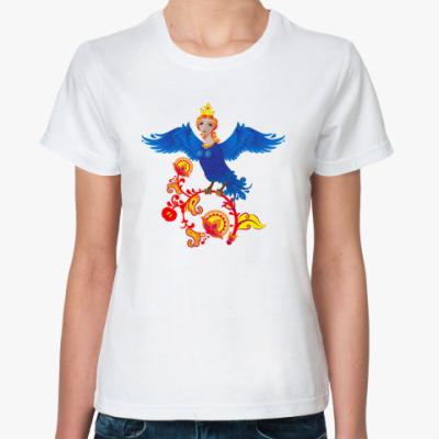 Классическая футболка птица Феникс
