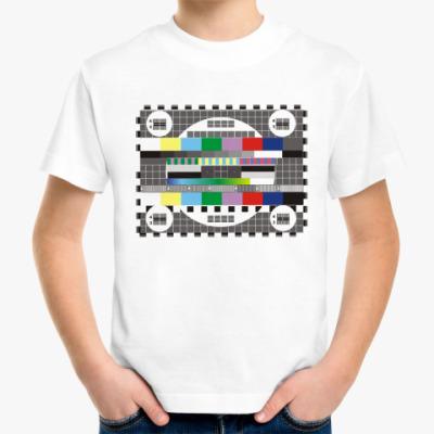 Детская футболка телек