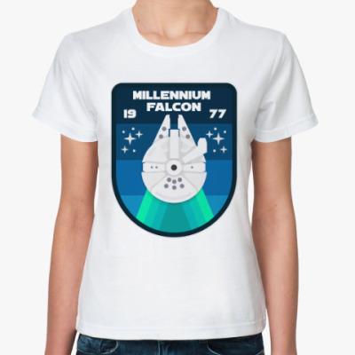 Классическая футболка Тысячелетний сокол