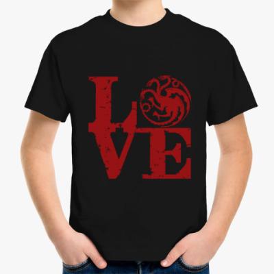 Детская футболка Игра престолов. Таргариены