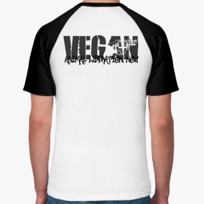 Футболка реглан Vegan