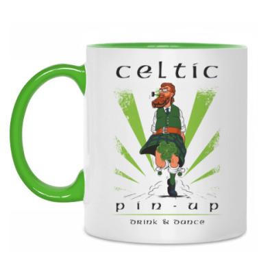 Кружка Кельтский пин-ап