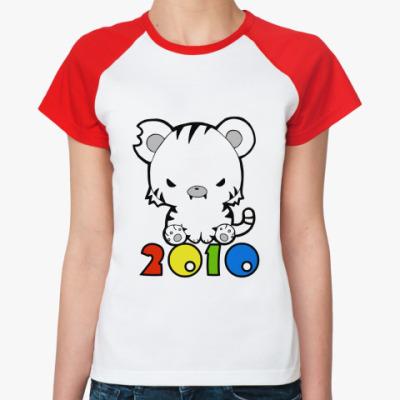 Женская футболка реглан 2010  Ж ()