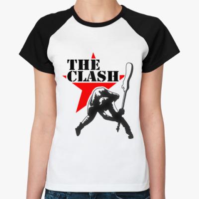 Женская футболка реглан The Clash