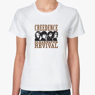 Классическая футболка Криденс