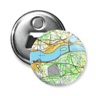 Магнит-открывашка Карта