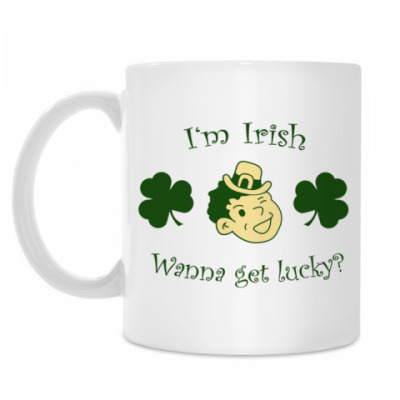 Кружка 'I'm Irish'