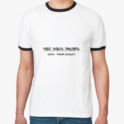 Футболка Ringer-T Electro