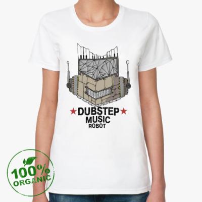 Женская футболка из органик-хлопка Dubstep