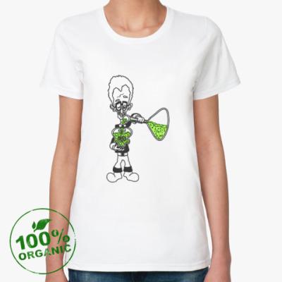 Женская футболка из органик-хлопка Еще немного