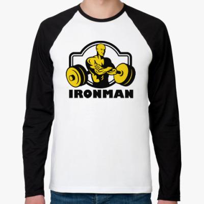 Футболка реглан с длинным рукавом Ironman