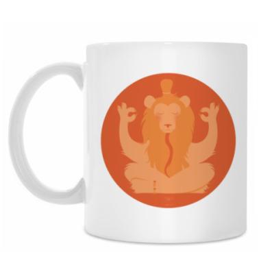 Кружка Animal Zen: L is for Lion