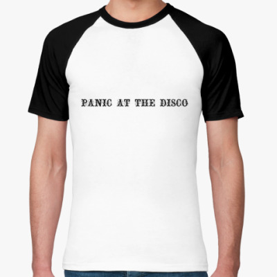 Футболка реглан Panic At The Disco