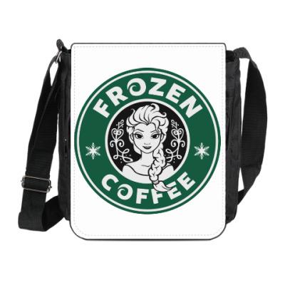 Сумка на плечо (мини-планшет) Frozen coffee